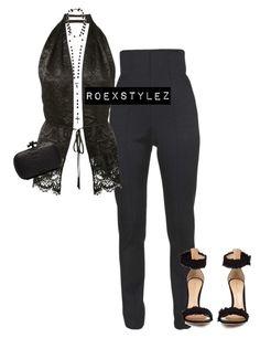 """-"" by roexstylez89 ❤ liked on Polyvore featuring Balmain, Givenchy, Gianvito Rossi and Bottega Veneta"