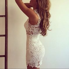 Lace Me Up Bodycon Dress