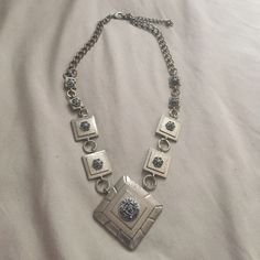 A beautiful Aztec necklace It's an Aztec tribal necklace that has an adjustable neckline and fits vertically with any outfit Macy's Jewelry Necklaces