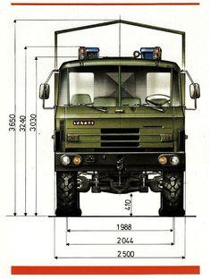 Tatra 815 VVN 26 265 8x8.1R valník Offroad, Bus Engine, Car Parts, Techno, Tractors, Automobile, Engineering, Military, Trucks