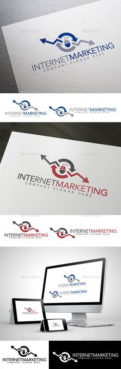 Internet Marketing Logo — Vector EPS #seo #marketing • Available here → https://graphicriver.net/item/internet-marketing-logo/10412906?ref=pxcr