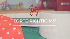 Torte richtig mit Fondant eindecken | Betty´s Sugar Dreams Youtube Video cake covering sugarpaste howto diy decorating