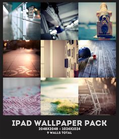 iPad Wallpaper Pack by midnighttokerkate.deviantart.com
