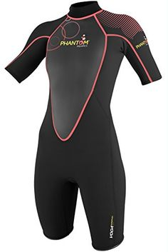 Phantom Aquatics Womens Voda Premium Shorty Wetsuit Black Coral Medium8    BEST VALUE BUY on Amazon 97b3aad0e