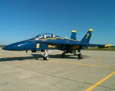 McDonnell Douglas F/A-18B Hornet - Blue Angels (Number 7), United States Navy (USN), United States.