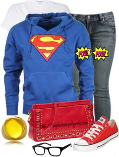 """The Man of Steel"" by stephiebees on Polyvore"