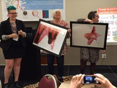 Chris and I were so shocked to be given these gorgeous fine art prints by the talented Jen Lewis! I like the way my jaw is literally dropped :-) Feminist Art, Menstrual Cycle, Human Rights, Fine Art Prints, Blood, Abstract, Health, Summary, Health Care