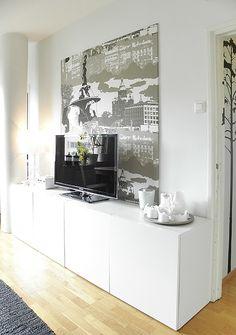 Small apartment, living room, interior design. Pieni asunto, olohuone, sisustussuunnittelu. Liten lägenhet, vardagsrum, inredningsdesign.