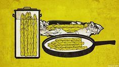 Spargel kochen ist kein Kunstück. 4 Methoden wie man Spargel am besten zubereiten kann: Kochen, Dünsten, Dämpfen, Braten