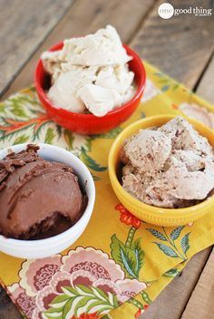 "Satisfaction without the guilt! Turn frozen bananas into ""ice cream"" with just your blender!"