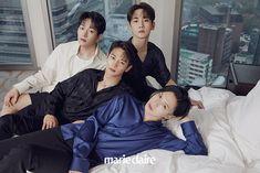 Onew Jonghyun, Lee Taemin, Shinee Albums, Shinee Debut, Choi Min Ho, Lee Jinki, Kim Kibum, Kpop Guys, Marie Claire