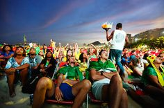 jane stockdale documents the agony and ecstasy at the 2014 world cup in brazil - designboom | architecture
