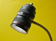 How to Make a Camera Lens Lamp