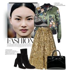 """Untitled #1966"" by anarita11 ❤ liked on Polyvore featuring Dsquared2, Prada, Valentino and Michael Kors"