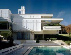 phdonohue:  Bass Residence (1971), Paul Rudolph, Fort Worth, Texas, November 1995 – Todd Eberle