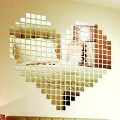 Nálepky na stenu, nálepky na zeď, naklejki na ściane, spiegel wandsticker, mirror stickers wall clocks