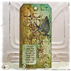 Tuesday Tutorial: Stencil Transfers with The Crafter's Workshop — Tammy Tutterow Designs