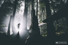 Vancouver s North Shore. As hauntingly beautiful as ever. Rider Andreas Hestler.