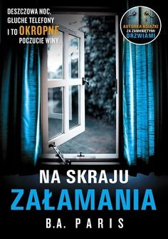 Na skraju załamania - B. Early Onset Dementia, Le Book, Stormy Night, World Of Books, Paris, Books To Read, Novels, Believe, Shit Happens