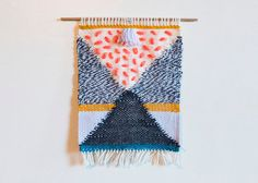 Little Lines 2 weaving // Handwoven Wall Hanging by beweaveme