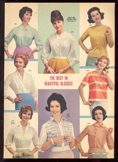 Lana Lobell Spring 1961 Catalog the best in beautiful blouses
