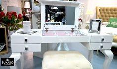 #tocador #vanity #chest Colección de tocadores BELLA by Franco Furniture Bukaro Interiorismo Showroom
