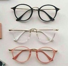 collection for girls Cute Glasses Frames, Fake Glasses, New Glasses, Womens Glasses Frames, Cute Sunglasses, Cat Eye Sunglasses, Round Sunglasses, Sunnies, Glasses Trends