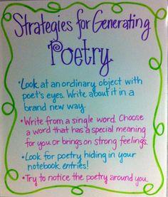 Generating Poetry