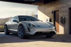 Porsche introduces a wagon version of its Mission E concept. The Mission E Cross Turismo is an. Porsche Mission, Mission E, Waterproof Sports Watch, Ferrari World, Cool Sports Cars, Maybach, Hot Cars, Concept Cars, Motorcycle
