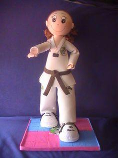 Manualidades Belen: Nerea Taekwondo