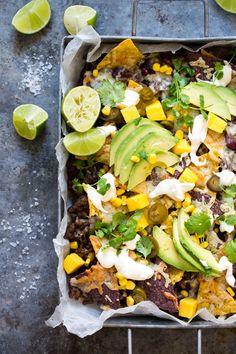 Tex Mex, Nachos, Cobb Salad, Mango, Ethnic Recipes, Food, Manga, Essen, Meals