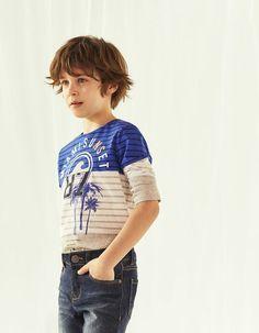 81a6602d0 Tee-shirt marinière garçon. Little Girl HairstylesBeautiful BoysLittle ...
