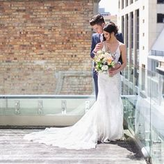 #urban #rooftop #photoshoot #photographer @kenrickrhys #hairandmakeup by @rebekahbanks #bride #wears @harriettfalvey #groom in @workingstylenz #flowers by @markantonia.ltd #highstreet #wedding #speechless