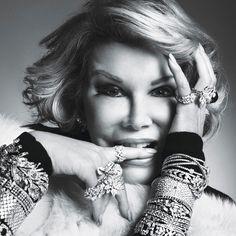 Happy Birthday, Joan Rivers: Melissa Rivers Gives Fans a Sneak Peek of Late ... Joan Rivers  346688 