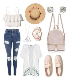 summer Outfit-Bianca by violettav631 on Polyvore featuring polyvore fashion style Hollister Co. Boohoo Topshop Ted Baker clothing