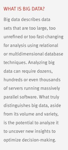 What is #BigData?