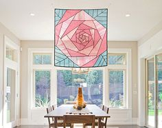 Rose pattern design Space décor and sheer shade/ window Mondrian, Patchwork Curtains, Sheer Shades, Web Patterns, Forest Design, Asian Home Decor, Tree Designs, Traditional Design, Traditional Fabric