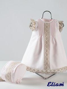 Vestido Piqué - Productos bebé de siempre - Bebé de siempre - Tienda de ropa infantil Eliam:
