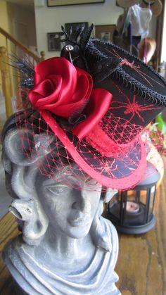 Brianna's Spider Halloween Mini Top Hat SOLD!