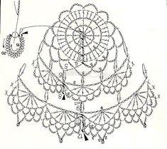 Urocze szydełkowe dzwonki będą znakomitą ozdobą okna, choinki czy dowolnego…