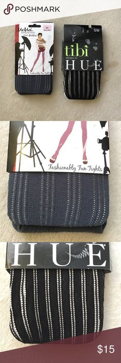 """Bundle of 2 Tights NWT Set of 2 Tights. One pair black and one pair gray. Sizing listed on packaging is as follows: Black - height, 5'3"""" to 6'0"""" weight, 120-170 lbs. Gray - height, 4'11"""" to 5'8"""" weight, 90-130 lbs. Accessories Hosiery & Socks"""