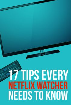 17 Tips Every Netflix User Needs To Know. Stream Netflix together Netflix Users, Netflix Hacks, Netflix Codes, Netflix Tv, Tv Hacks, Movie Hacks, Netflix Documentaries, Easy Hacks, Netflix Streaming