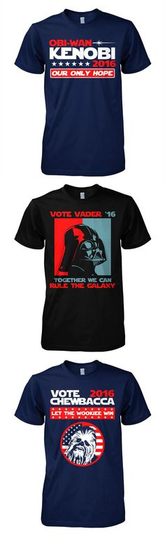 Show where your support lies in 2016 (click image to purchase) Star Wars Love, Star Wars Art, Star Trek, The Force Is Strong, Star Wars Humor, Love Stars, Obi Wan, Geek Out, Nerdy