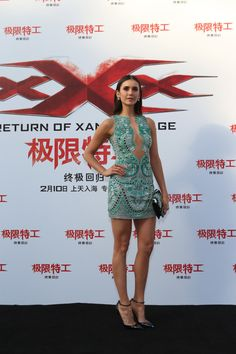 """Nina Dobrev attends a press conference/red carpet for the Paramount Pictures title """"xXx: Return of Xander Cage"""" on February 9, 2017 in Beijing, China."""