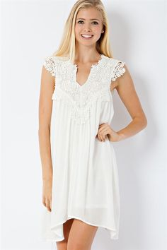 White Dress from Longhorn Fashions