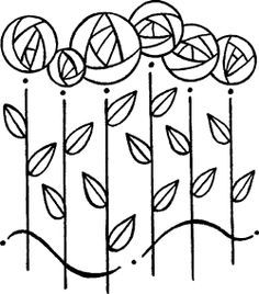 Charles rennie mackintosh clipart collection - Cliparts World 2019 Stained Glass Patterns, Mosaic Patterns, Charles Rennie Mackintosh Designs, Rose Stencil, Jugendstil Design, Quilting Designs, Quilting Projects, Art Nouveau Design, Embroidery Transfers