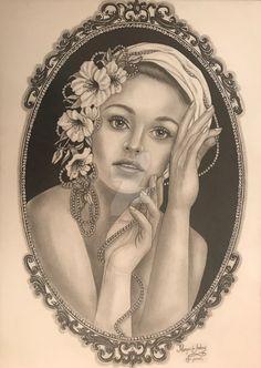 Mona Lisa, Princess Zelda, Artwork, Fictional Characters, Sketches, Portraits, Work Of Art