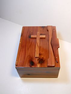 Hey, I found this really awesome Etsy listing at https://www.etsy.com/listing/198635308/bible-box-cedar-aromatic-interior-and