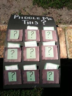 Riddler themed game