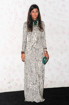 Giovanna Battaglia Photo - Barneys New York Celebrates Carine Roitfeld - Arrivals